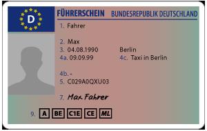 Kartenführerschein