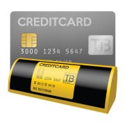 Kreditkarten im Taxi