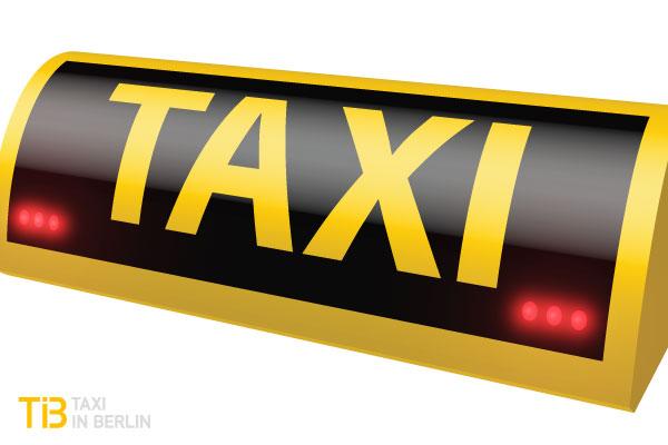 Taxi-Dachzeichen - stiller Alarm